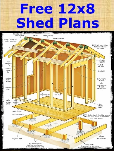 Garden Shed Plans That Can Save You Money Storage Shed Plans